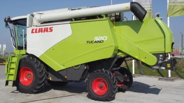 Claas Tucano 320,sl.2